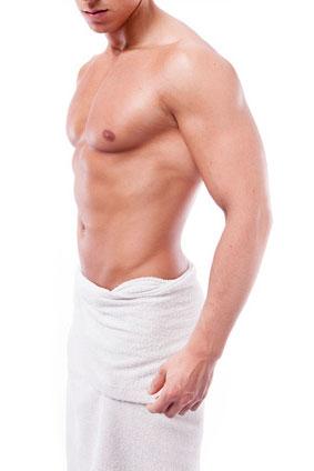 depilacion masculina zonas