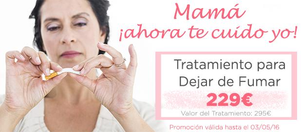 promociones dia de la madre: tratamiento tabaco