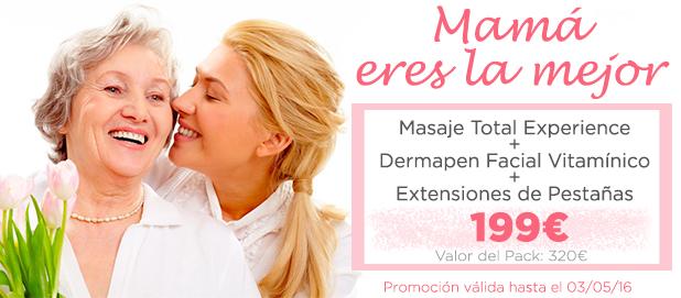 promociones dia de la madre: facial y corporal
