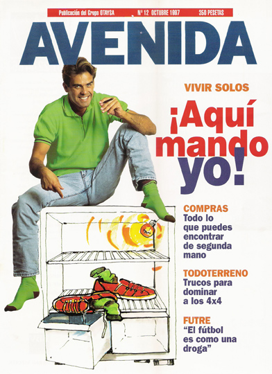Articulo sobre tabaquismo en revista AVENIDA