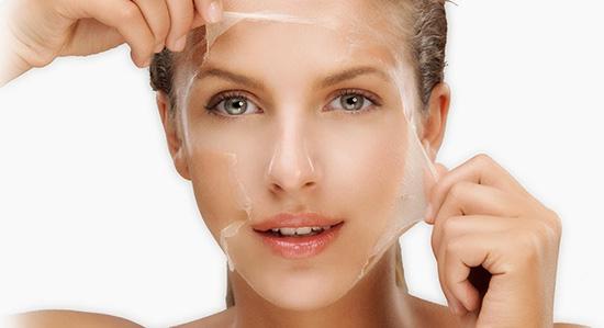 peeling facial y peeling quimico