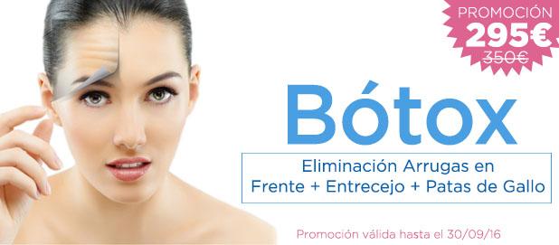 Promoción Especial Botox Madrid Precio