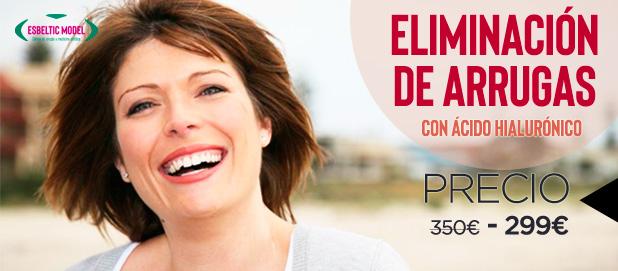 Promoción Tratamiento para las arrugas Madrid Precio