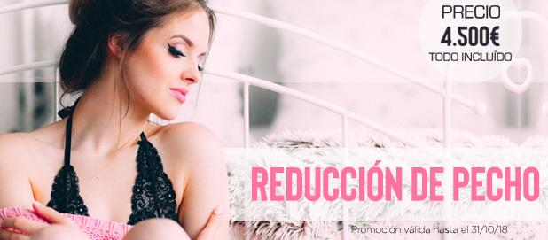 Promoción Reducción de Pecho Madrid Precio