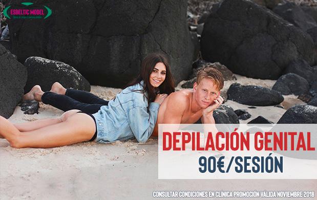 Promoción Depilación genital Madrid Precio