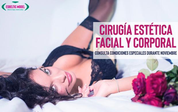 Promoción Cirugía estética facial y corporal Madrid Precio