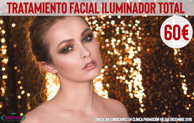 Promoción Tratamiento Facial Iluminador Madrid Precio
