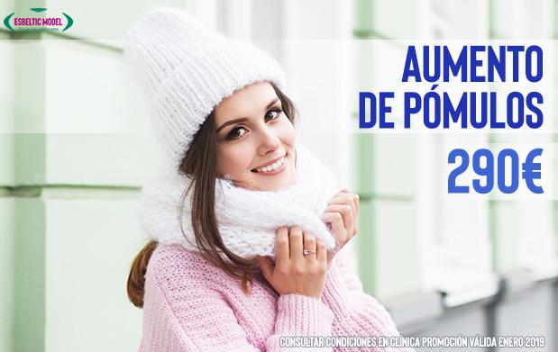 Promoción Aumento de Pómulos Madrid Precio