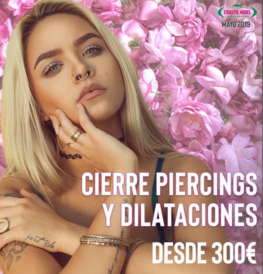 Promoción Eliminar agujero del piercing Madrid Precio