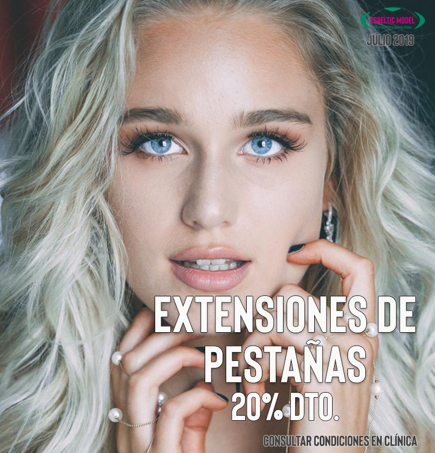 Promocion Extensiones de Pestañas Madrid Precio