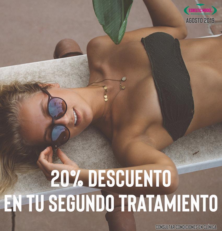 Promoción 15% de Descuento en tu 2º tratamiento Madrid Precio