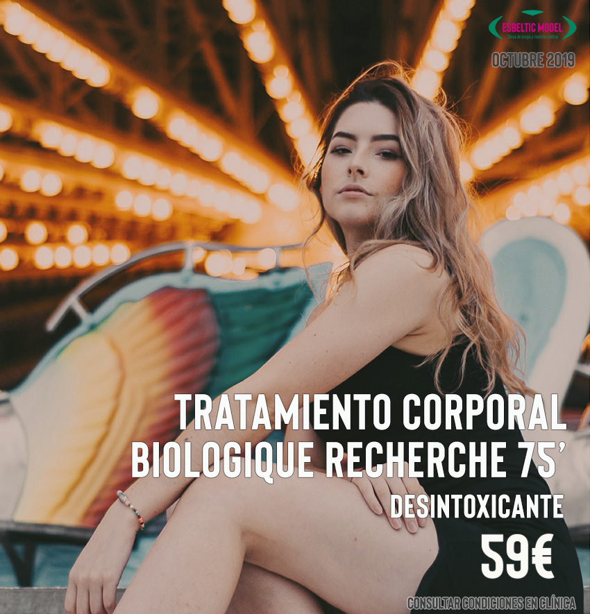 Promoción Regeneración Celular Corporal Madrid Precio