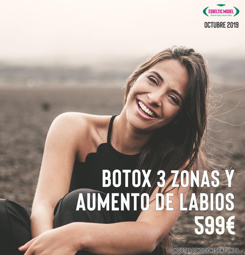 Promoción Botox y Aumento de labios Madrid Precio