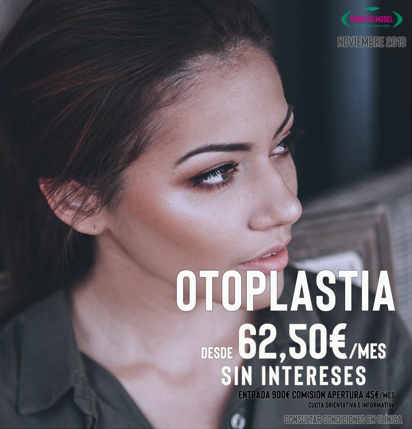 Promocion Otoplastia, Cirugía de Orejas Madrid Precio