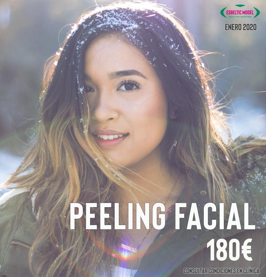 Promoción Peeling Facial Madrid Precio