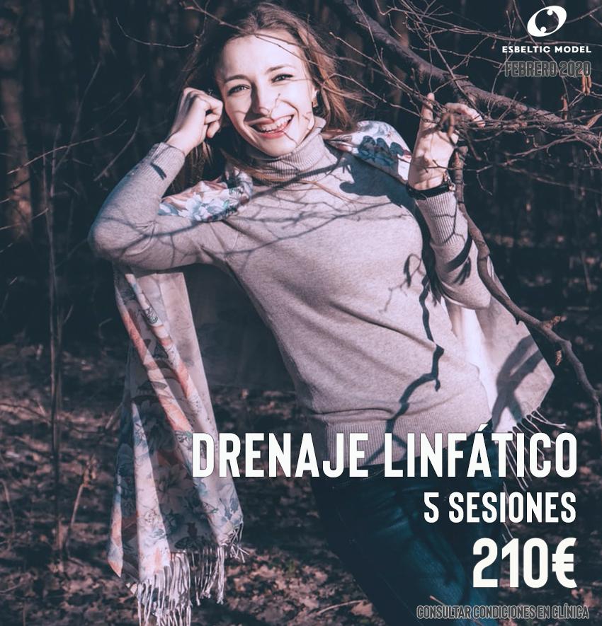 Promoción Drenaje Linfatico Madrid Precio