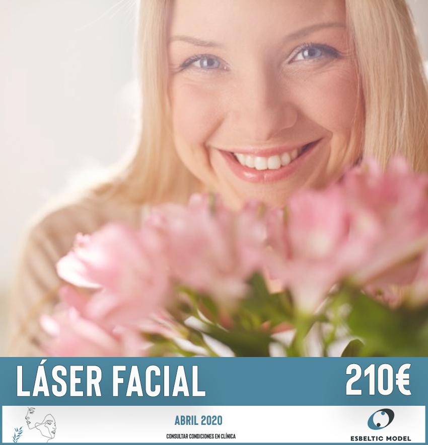 Promoción Láser Facial Madrid Precio